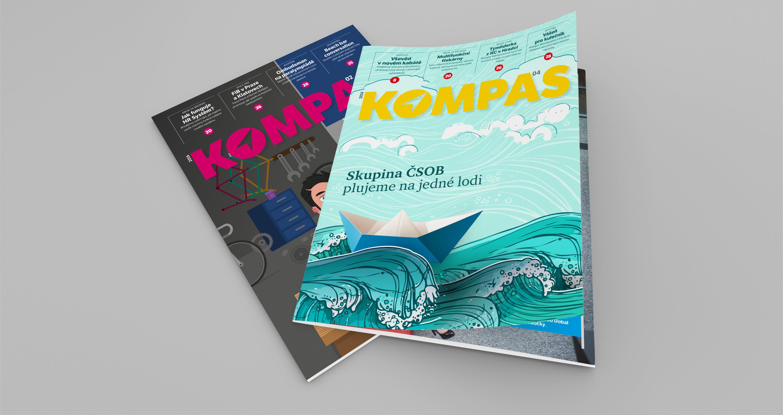 ČSOB: interní magazín Kompas