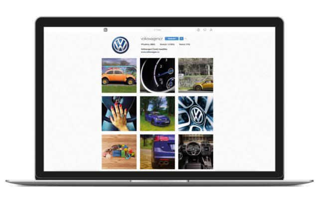 Volkswagen sociální sítě