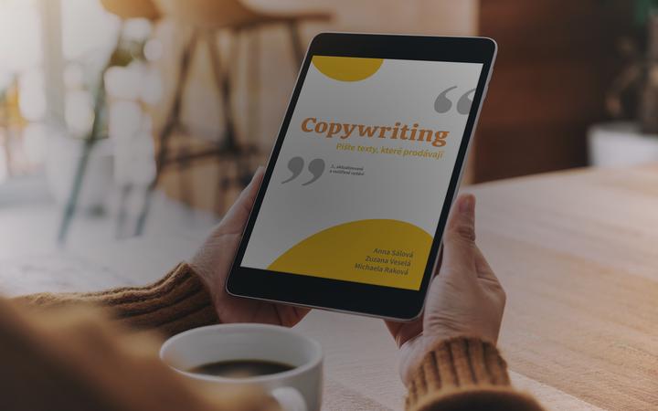 Naše tipy pro začínající copywritery v nové knize